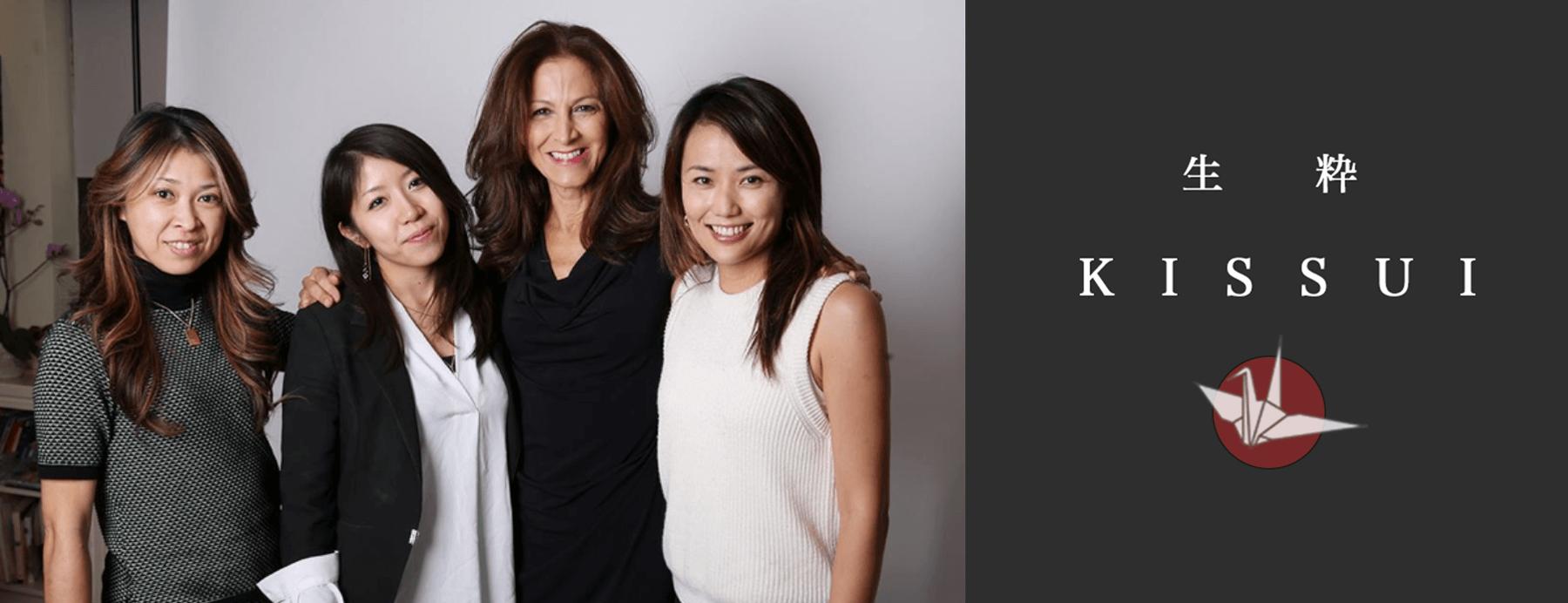 日本人の感性で、女性の「最高の瞬間」を切りとるプロジェクト ー「KISSUI」との出会い