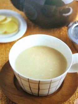 しょうが紅茶×甘酒ヨーグルト